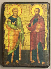 Sts. Peter & Paul Icon (Mounted)