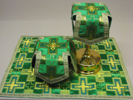 Aer and Chalice Veil Set - Green #8