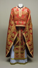 Greek Priest's Vestments: Red #4 - 54/155