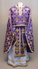 Greek Priest's Vestments: Purple #2 - 52/140