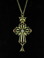Jeweled Cross #25