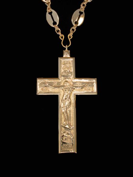 Gold Pectoral Cross 6 Skete Of St John
