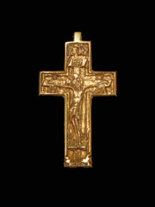 Gold Pectoral Cross #03