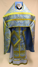 Russian Priest's Vestments: Blue #1 - 50-52/150