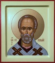 St. Nicholas Icon #02 (Silkscreen)