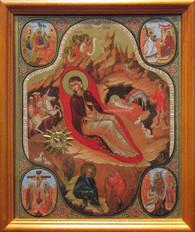 Nativity Icon #01 (Mounted)