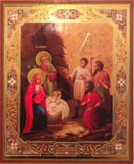 Nativity Icon #02 (Mounted)