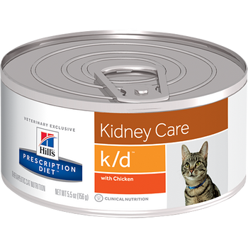 Hill's Feline k/d with Chicken (24 x 5.5 oz. Cans)