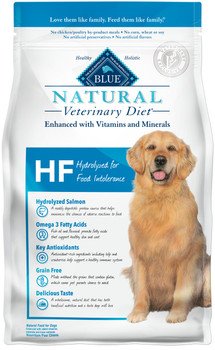 BLUE Natural HF Hydrolyzed for Food Intolerance Canine Dry (6 lbs)