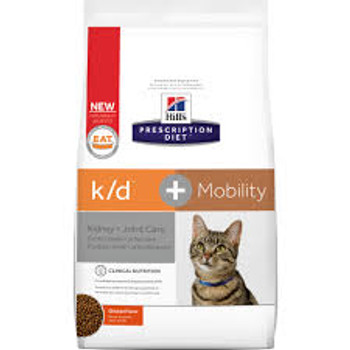 Hill's Prescription Diet Feline k/d + Mobility (6.35 lb. Dry)
