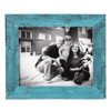 11x14 Barnwood Picture Frame - Turquoise