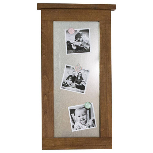 Magnetic Dry-Erase Board with Farmhouse Frame