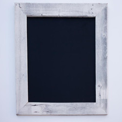 Large Chalkboard with Rustic Barnwood Frame