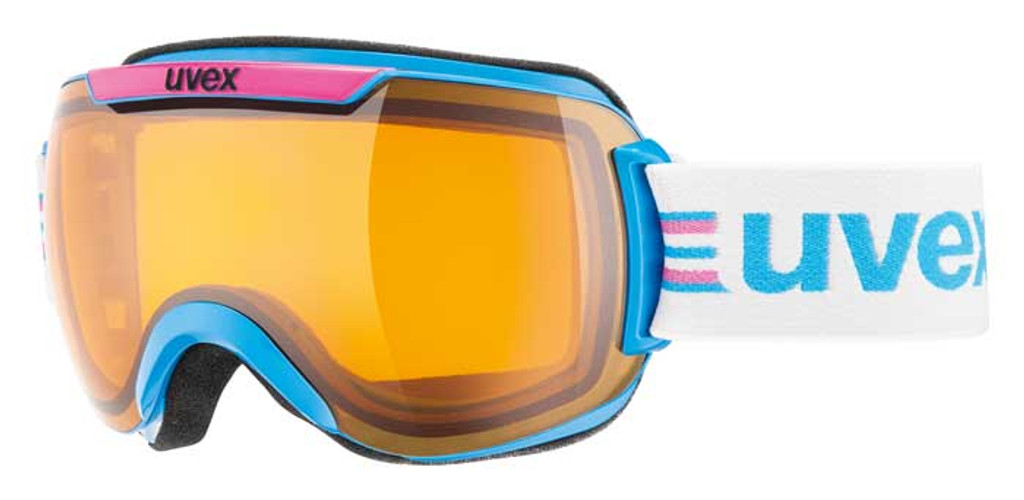 Uvex Downhill 2000 Race Goggles - Cyan