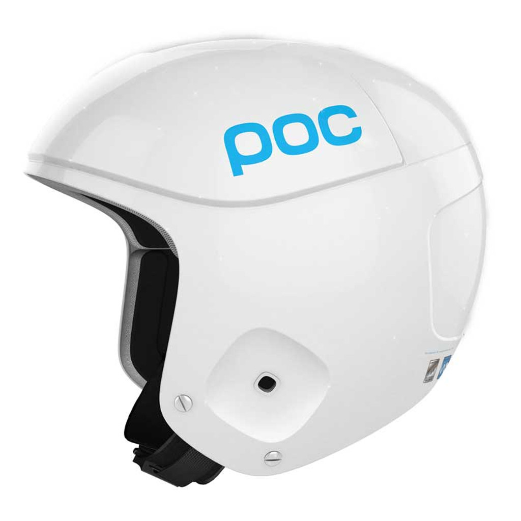 POC Skull Orbic X Helmet FIS Legal Ski Helmet in Julia White