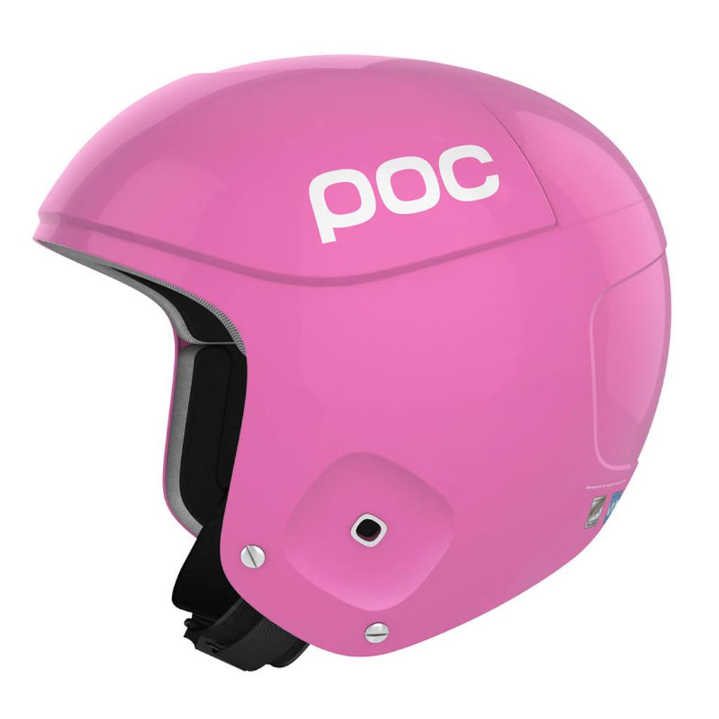 POC Skull Orbic X Helmet FIS Legal Ski Helmet in Ytterbium Pink