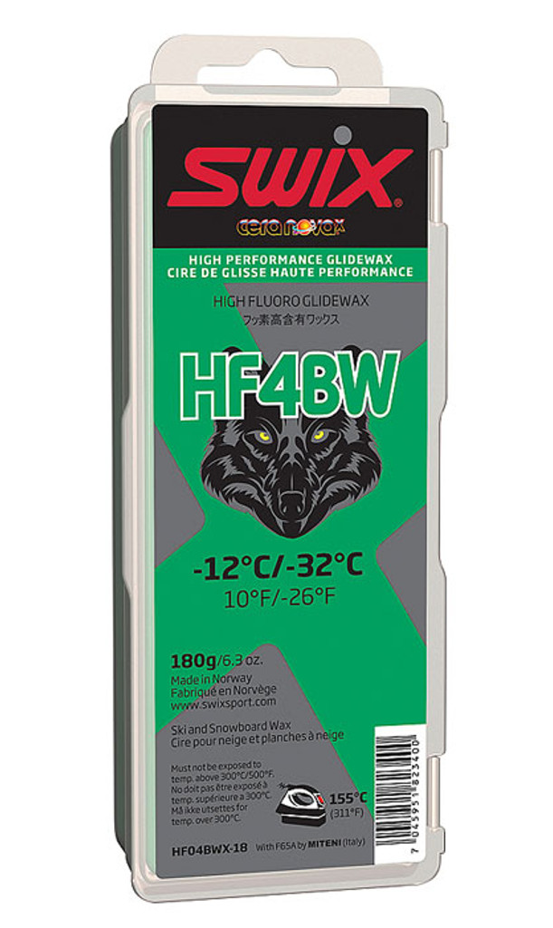 Swix HF4BWX High Fluoro Wax 180g
