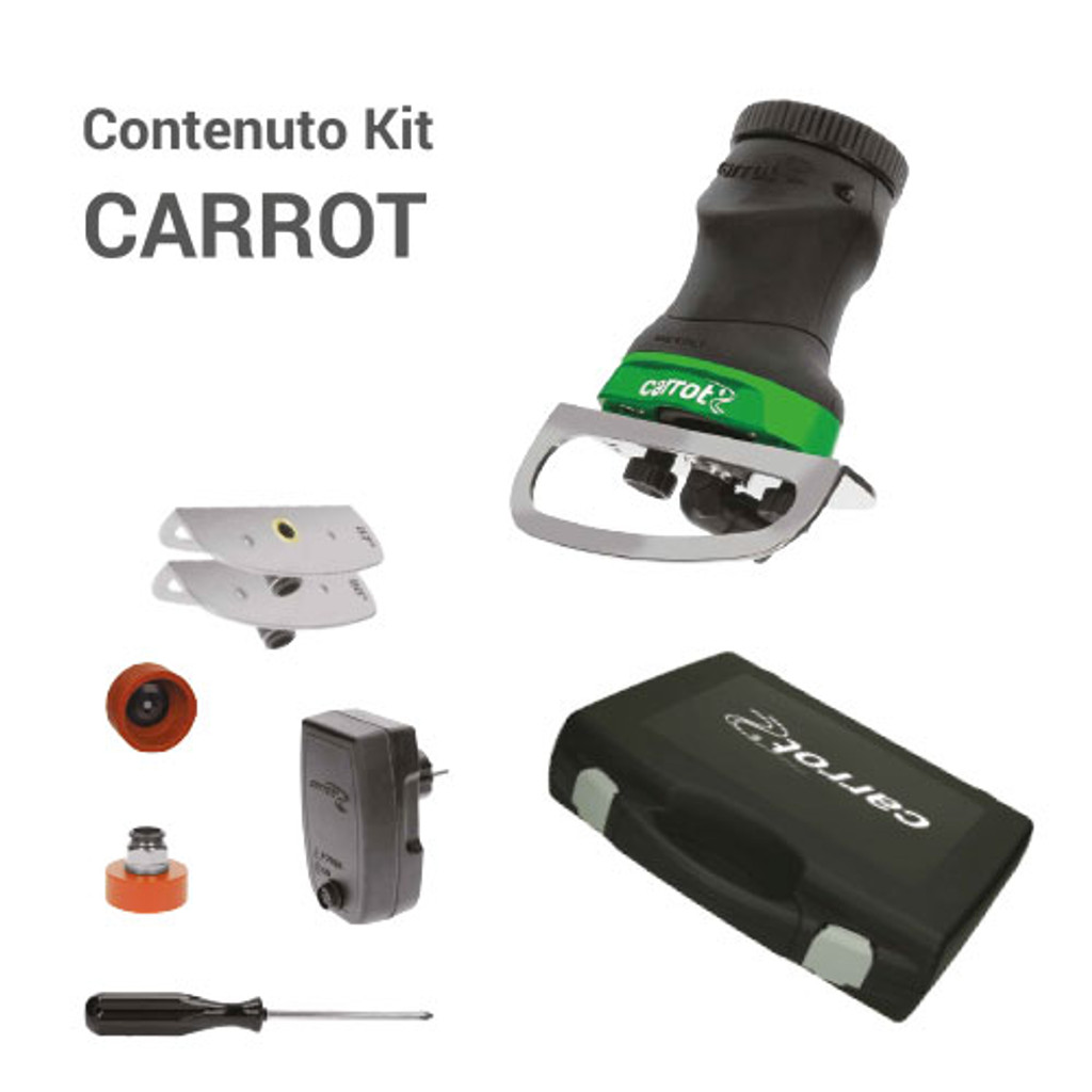 Carrot Edge Grinder by Comax