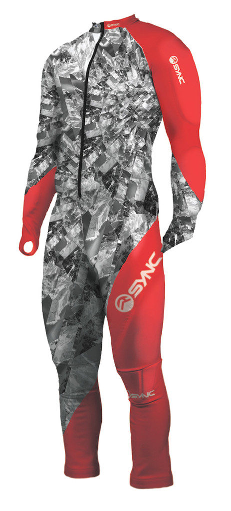 Sync Empyreal Jr Suit - Red