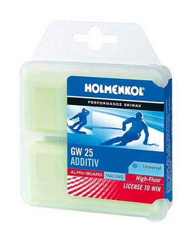 Holmenkol GW 25 Fluoro Additive Wax
