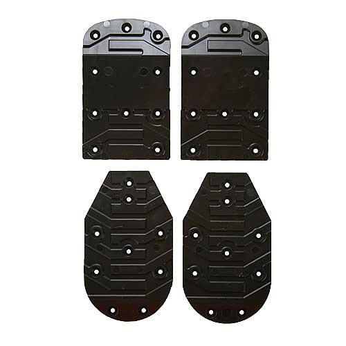 SVST Ski Boot Flat Riser Plates