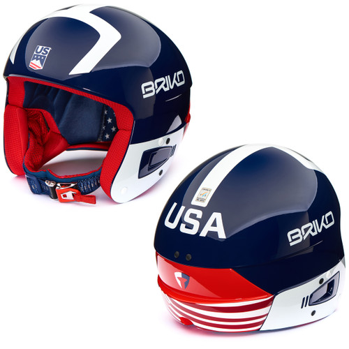 Briko Fluid Vulcano FIS USA Helmet