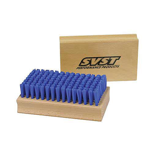 SVST Blue Nylon Wax Brush - Stiff