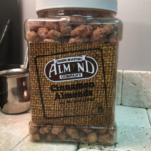 40 oz Jar Cinnamon Almonds