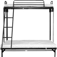 Hickory Springs Folding Full Twin Bunk Bed