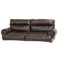 60' Flip Sofa Brown