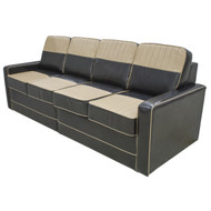Black & Tan Lounge with Storage