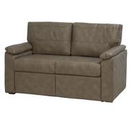 Brown w/ Black Trim Sleeper Sofa