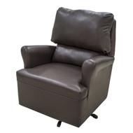 Mocha Brown Swivel Chair
