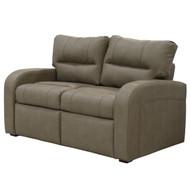 """60"""" Tan Tri Fold Sleeper Sofa"""
