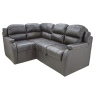 Black Theater Seating Sleeper w/ Storage