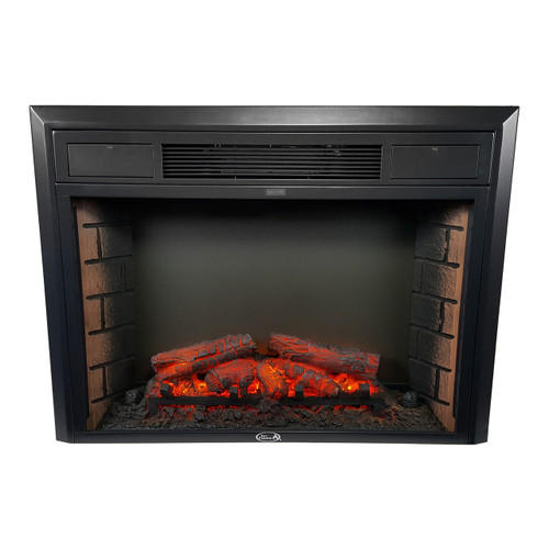 "26"" Electric Fireplace - Flat Glass"
