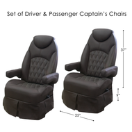 RV Captains Chair - Driver & Passenger
