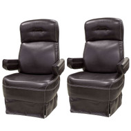 RV Captains Chair Combo - Driver & Passenger (No Kickout)