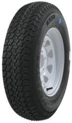 Kenda Loadstar ST205/75D14 Five Spoke Trailer Tire White Wheel
