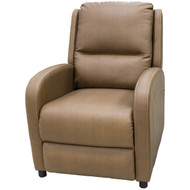 "27-1/2"" Dark Caramel RV Recliner"