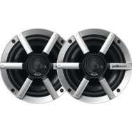 "Polk 6.5"" 200W Marine Coaxial Speaker with Silver Grill"
