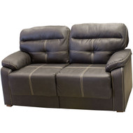 "67"" RV Tri-Fold Sofa Dark Walnut"