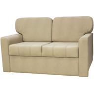 "60"" Sandstone Tri-Fold Sofa"