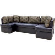 "109"" RV Dinette Sofa w/ Storage"