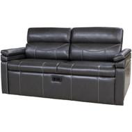 """79"""" RV Tri-Fold Sofa Charcoal Grey"""