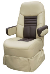 "23"" RV Captain's Chair Two-Toned Tan & Brown"