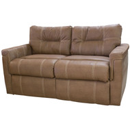 "65"" Almond RV Tri-Fold Sofa"