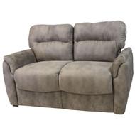 "66"" Gray Smoke RV Tri-Fold Sofa"