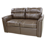 "61"" Light Brown RV Tri-Fold Sofa"
