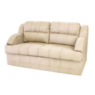 "64"" Tan RV Tri-Fold Sofa"